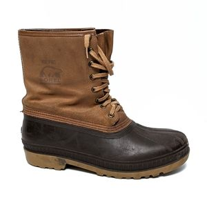 {SOREL} VTG Men's Ice Pac Leather Duck Boots 10